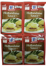 4 Packs Mccormick Hollandaise Sauce 1.25oz  expiration 12/31/21 FREE SHIPPING - $21.49