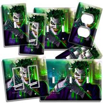 THE JOKER BATMAN COMICS LIGHT SWITCH OUTLET WALL PLATE COVER BOY ROOM HO... - $8.99+