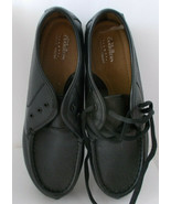 Cobbie Cuddlers Cacey Black Leather Shoes Lace Up Memo Tech 8 WW - $34.64