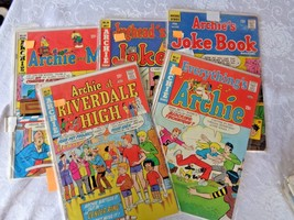 Comics Archie No 121 1968  No 19-37-39-64 1974  - $14.00