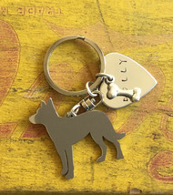 Beauceron French Shorthaired Sheperd Custom Keychain, Beauce, Dog Breed Jewelry, - $18.00