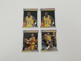 1987 Fleer Basketball Cards Los Angeles Lakers Lot of 4 Byron Scott Cooper - $9.74