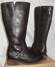 UGG Australia DAHLEN Stout Tall Leather Fully Lined Boots Size 7.5 NEW 1006043 - $127.66
