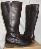 UGG Australia DAHLEN Stout Tall Leather Fully Lined Boots Size 7.5 NEW 1... - $127.66