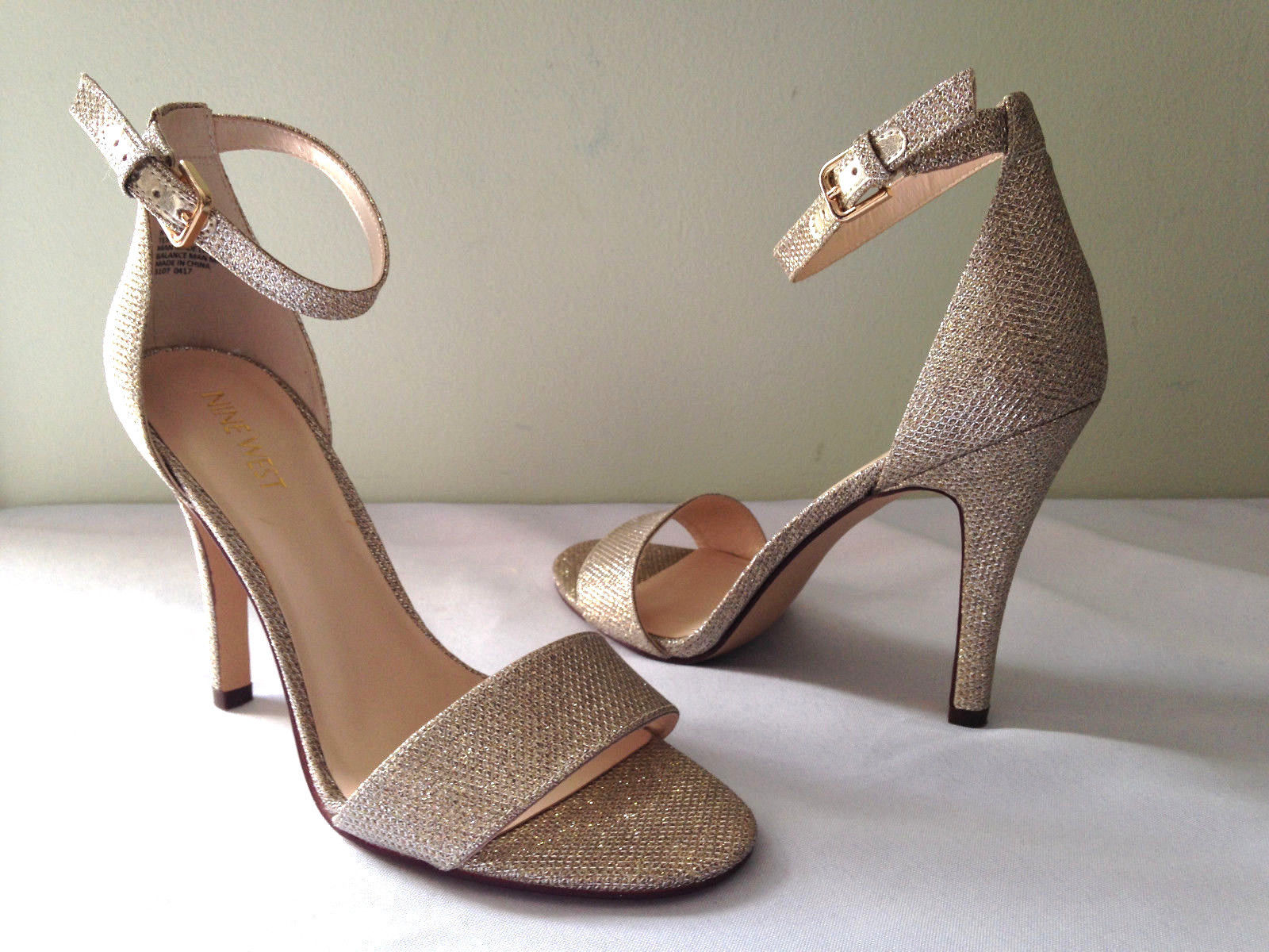 afbb627aad7 NEW Nine West Gorgeous Gold NW7 AURELIA and similar items