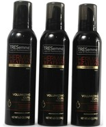 3 TRESemme Thermal Creations Heat Volumizing Curl Mousse Provides Grip 6... - $33.99