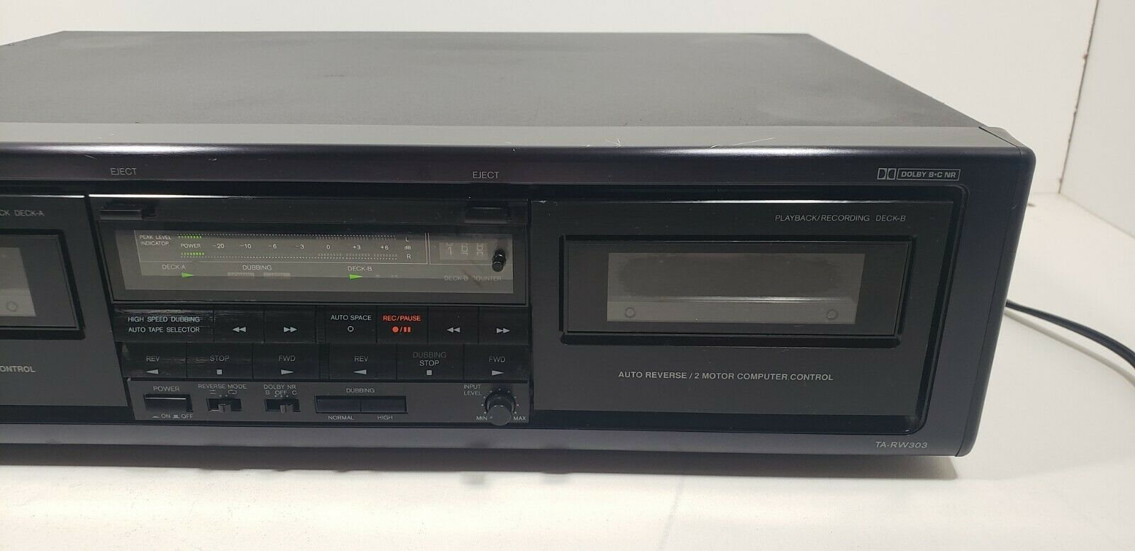 Onkyo Stereo Cassette Tape Deck TA-RW303 Tested image 2
