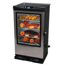 "Masterbuilt Front Controller 40"" Stainless Steel Smoker Viewing Window R... - £560.06 GBP"