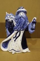 "Retired Potting Shed Dedham HOLIDAY Christmas SANTA +Lantern 10"" Figurin... - $169.99"