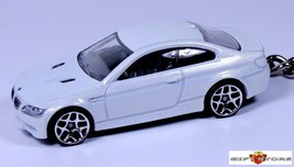 KEY CHAIN WHITE BMW SERIES 3 320i/325i/328i/330i d M3 COUPE E92 LIMITED ... - $39.98