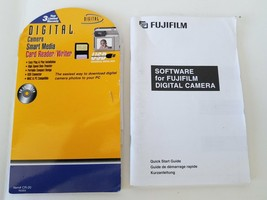 Software For Fujifilm Digital Camera Quick Start Guide CDs and Manuals - $12.47
