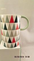 Starbucks Mug Christmas Trees 2017   12oz Tall  Glazed and unglazed sides  - $10.39