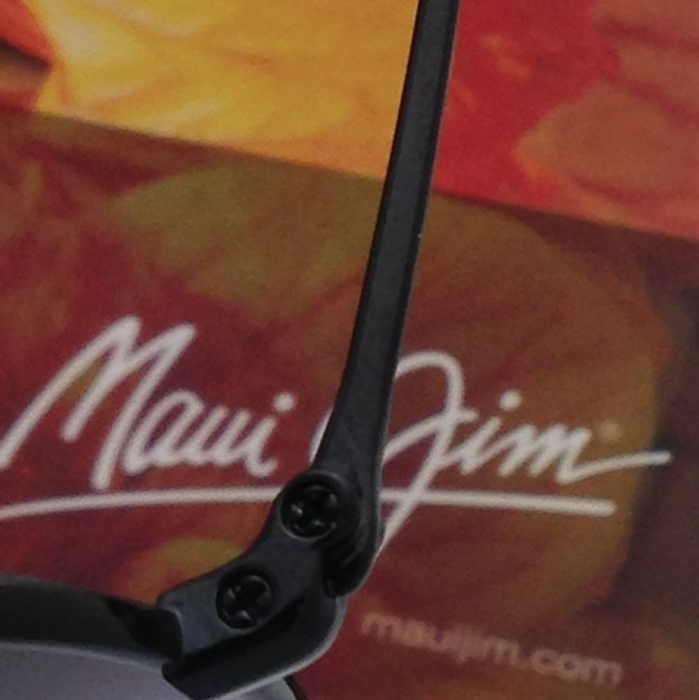 439b254069 Polarized MAUI JIM Titanium Sunglasses MAVERICKS GS 264-02 Black Frame Grey  Lens