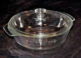 Vintage Anchor Hocking Cooking Dish with Lid 1.5 Qt./ 1 L AA18-1272 image 3