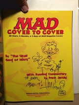 Mad Cover to Cover -48 Years, 6 Months & 3 Days of Mad Magazine Covers S... - $151.90