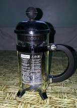 "VINTAGE BODUM SINGLE SERVE FRENCH COFFEE PRESS Used 8 "" H - £8.22 GBP"