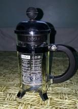 "VINTAGE BODUM SINGLE SERVE FRENCH COFFEE PRESS Used 8 "" H - £7.88 GBP"