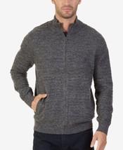 Nautica Men's Mock-Neck Full-Zip Sweater Size Large - $48.51