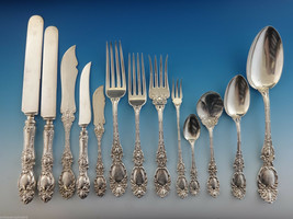 Lucerne by Wallace Sterling Silver Flatware Set Service Fitted Box 205 Pieces - $12,500.00
