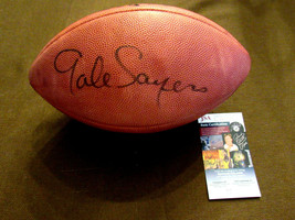 GALE SAYERS HOF CHICAGO BEARS SIGNED AUTO VINTAGE WILSON TAGLIABUE FOOTB... - $346.49