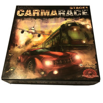 CARMARACE STAGE 1 Hitchhiking Board Game Up To 6 Players BOARD TO DEATH ... - $19.79