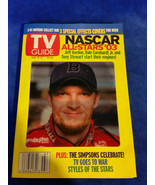 Dale Earnhart Jr. 3-D TV Guide Cover from 2003 - Feb 15- 21 - $5.65