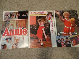 Aileen Quinn teen magazine pinups clipping Annie Tiger Beat Bop Movie Star