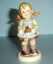 "Hummel Goebel Flower Girl Figurine #548 TMK6 4.5"" - $80.00"