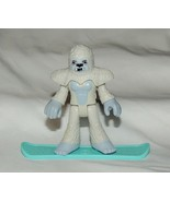 Nuevo Imaginext Blind Bag Series 9 Yeti Snowboarder Abominable Snowman B... - $5.78