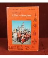 Walt Disney's Visit to Disneyland 1965 Childrens Vintage Hard Cover Book - $8.63