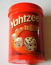 Hasbro Yahtzee To Go A Classic Dice Game  Great game for Famly vacations - $7.59