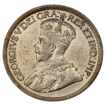Canada 1931 10 Cents Silver Coin in XF+ Condition KM #23a - $29.69