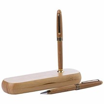 Alex Navarre Durable Executive Bamboo Ballpoint Pen and Pencil Set with ... - $16.59