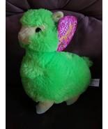 """LLAMA GREEN Brand New Plush NWT Stuffed Animal with Tags 11"""" SUGAR LOAF ... - $19.99"""