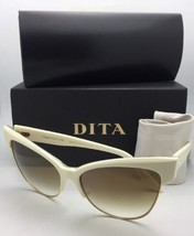 DITA Sunglasses TEMPTATION 22029-C-CRM-GLD-61 Cream & Gold w/ Brown Fade+Mirror