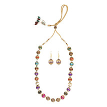 Efulgenz Designer Necklace Set for women - $32.00