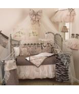 Nightingale Floral 8 PC Nursery Crib Bedding Set, Cotton ... - £156.18 GBP