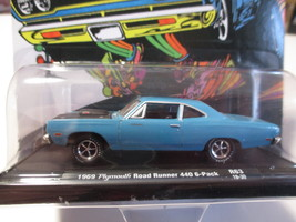 M2 machines - Castline, 1969 Plymouth Road Runner 440 6-PackBlue, LE 6,800 - $12.00