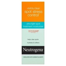 6x Neutrogena Visiblement Clair Bouton Stress Contrôle Hydrater - $42.33