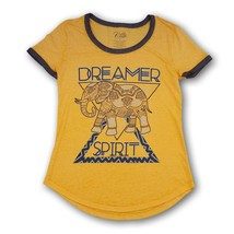 Dreamer Spirit Women's Tee T-shirt Elephant Design Light Weight Loose Fit - $9.89