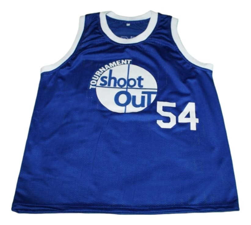 Kyle Watson #54 Tournament Shoot Out New Men Basketball Jersey Blue Any Size