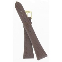 Speidel NIB Brown Lizard Grain Watchband WW03323N - $15.95