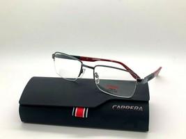 Carrera Ca 8820 ODF7 Gunmetal Ruth Red 53-19-140MM Eyeglasses Case+Cloth - $38.53