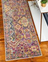 Rugs.com El Paso Collection Rug – 6 Ft Runner Multi Medium Rug Perfect for Hallw - $69.00