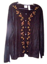 Size XL - Plus Size 3X ~ Villager Long Sleeve Sweaters, some with Beaded Accents image 2