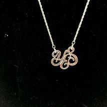 Lia Sophia Silver Tone Necklace Pendant YES Positive Attitude - $16.82