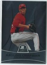 AROLDIS CHAPMAN RC 2010 Bowman Platinum Prospects #PP10 Cincinnati Reds ... - $4.49