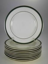Royal Doulton Cambridge Green Bread & Butter Plates or Dessert Plates Se... - $44.56