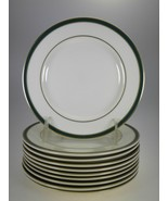 Royal Doulton Cambridge Green Bread & Butter Plates or Dessert Plates Se... - $49.51