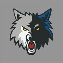 Minnesota Timberwolves #6 NBA Team Logo Vinyl Decal Sticker Car Window Wall - $6.28+